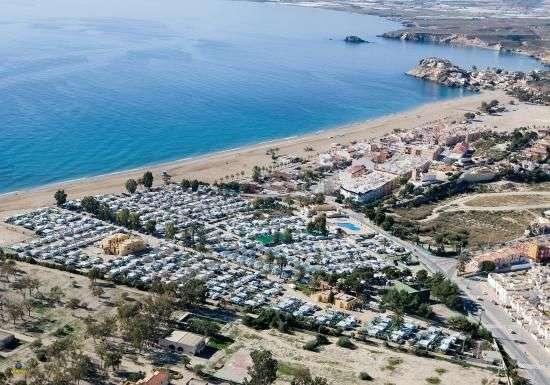 entrono del Camping Playa de Mazarrón