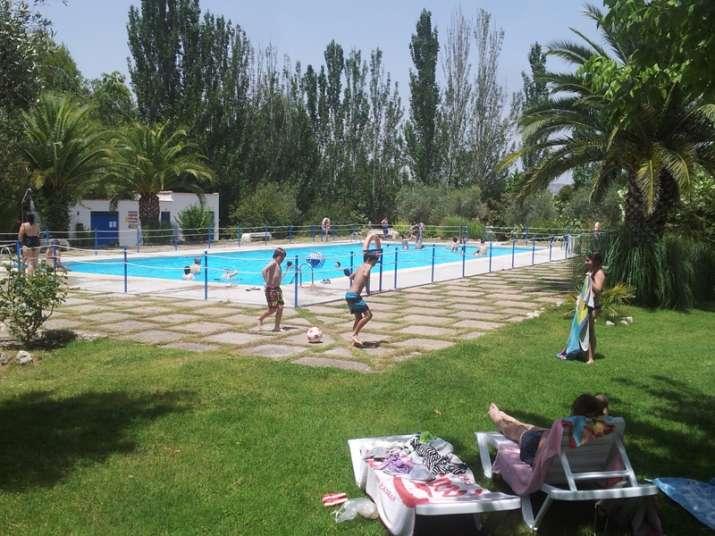 Camping Lake Caspe