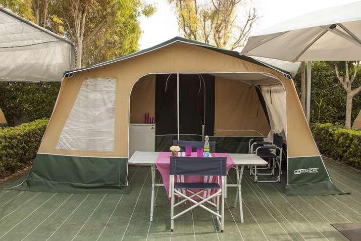 Camping marjal guardamar resort camping y bungalows en - Camping jardin de las dunas ...