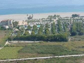 Entorno del Camping Playa de Poniente