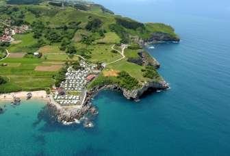Entorno del Camping Playa de Isla