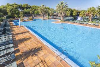 Camping Solmar, in Blanes (Girona)