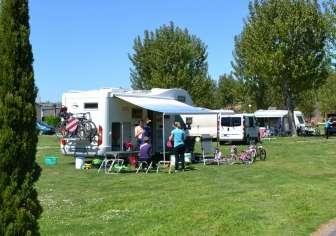 Camping De Haro, in Haro (La Rioja)