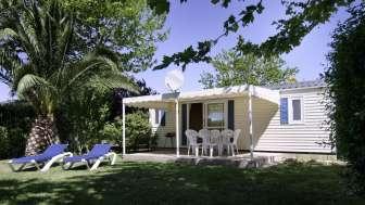 Oferta en el Camping Aquarius: First Minute Mobil-home