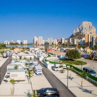 Te bieden in Camping Sol De Calpe Boreal - Camping in Alicante