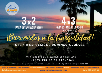 Offer in Camping La Masía Tarragona: