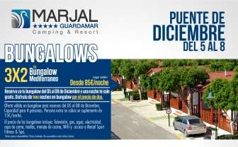 Offer in Bungalow Marjal Guardamar & Bungalows Resort - Bungalow in Alicante