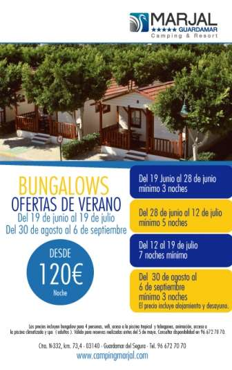 Camping Marjal Guardamar & Bungalows Resort