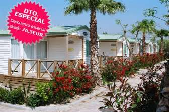 Offer in Bungalow Playa Cambrils Don Camilo - Bungalow in Tarragona
