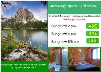 Offer in Bungalow Nou Camping - Bungalow in Lleida