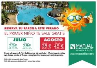 Camping Marjal Costa Blanca Eco Resort