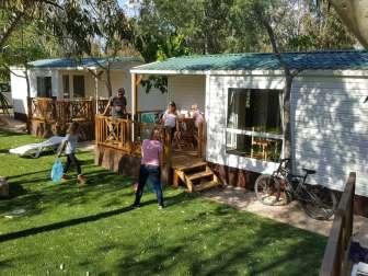 Oferta en el Camping Ampolla Playa - Camping en Tarragona