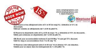 Offer in Camping Neptuno - Camping in Girona