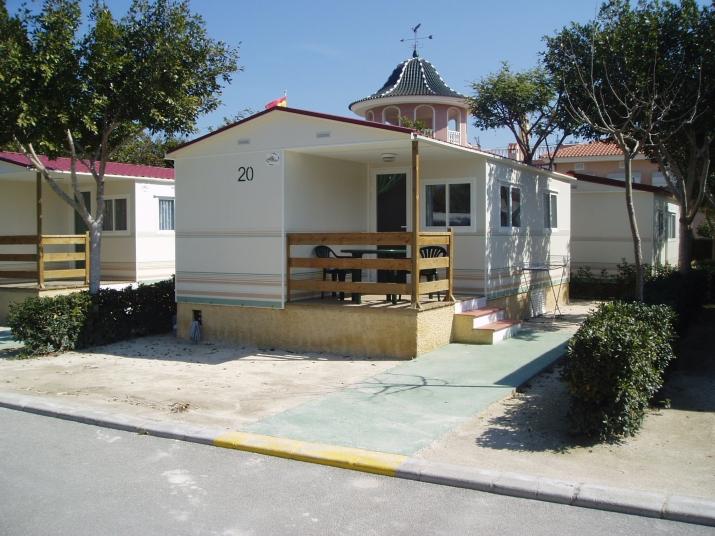 Bungalow tipo: Dunas en el Camping Marjal Guardamar   & Resort