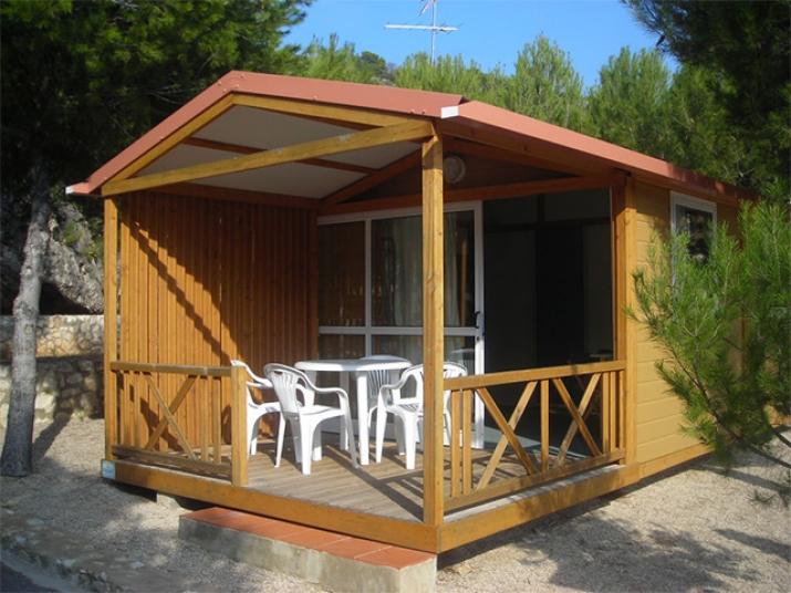 Bungalow tipo: Francia en el Camping Santa Marta