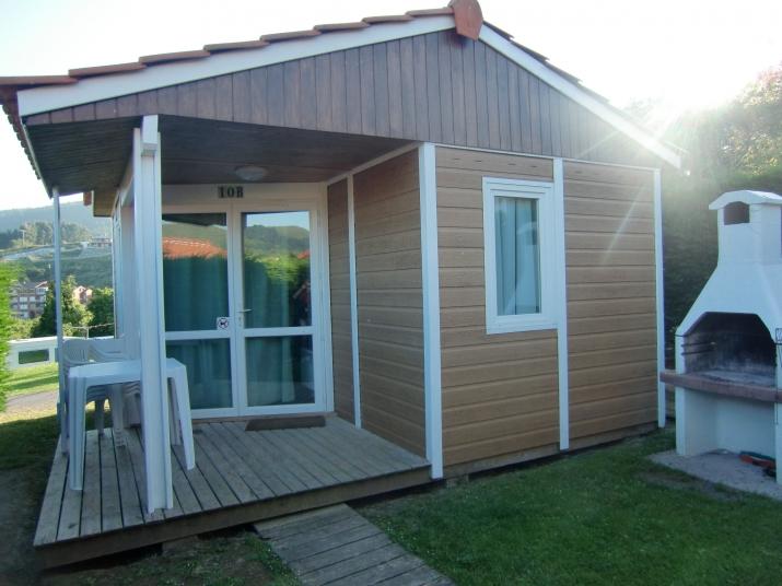 Bungalow tipo: 1 Dormitorio en el Camping Portuondo