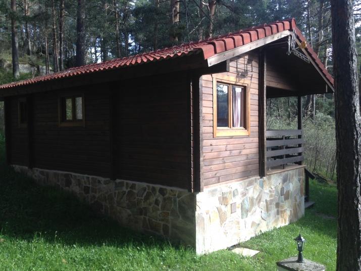 Bungalow tipo: Bungalow Rosa en el Camping Refugio de Pescadores