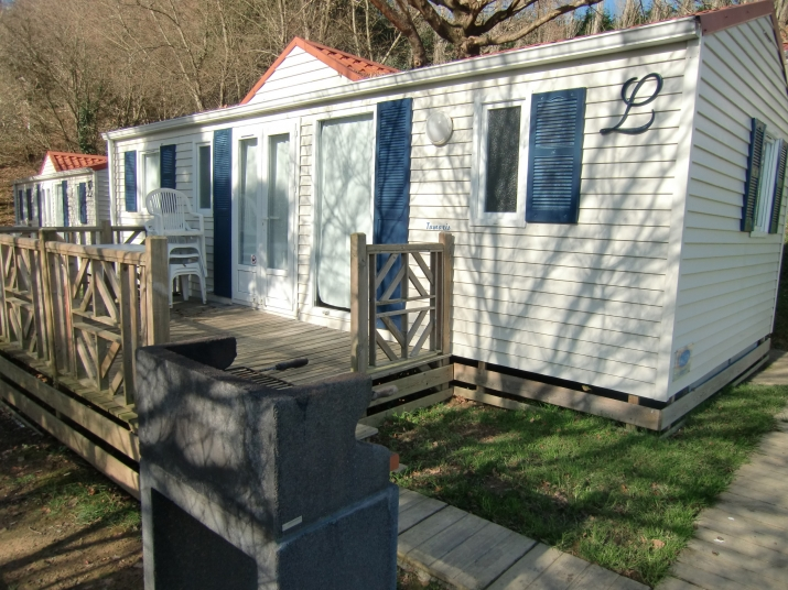 Bungalow tipo: 3 Dormitorios en el Camping Portuondo
