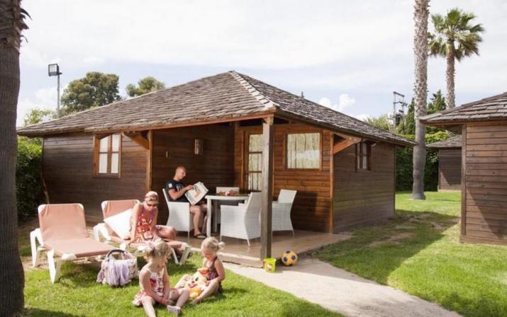 Bungalow tipo: Tahiti Suite en el Camping Camping Resort Sangulí Salou