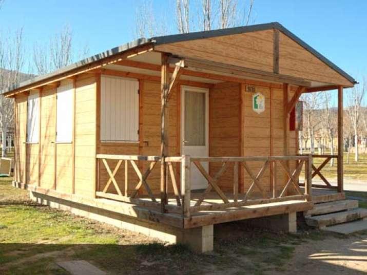 Bungalow tipo: Estandar en el Camping Caravaning el Escorial