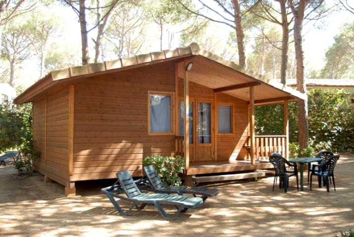 Bungalow tipo: Bungalow Finlandia en el Camping Cypsela Resort