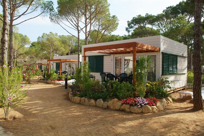 Bungalow tipo: Bungalow Mediterrani en el Camping Cypsela Resort