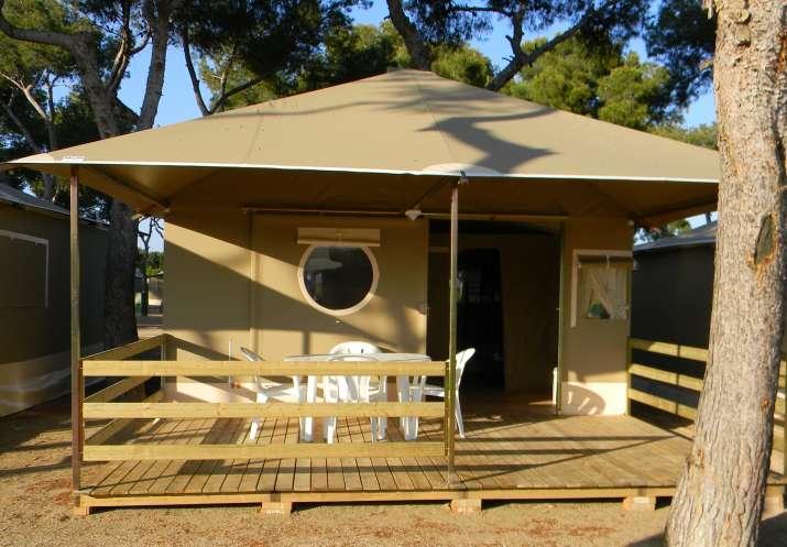 Bungalow tipo: Lodge Tiendas en el Camping Relax Sol