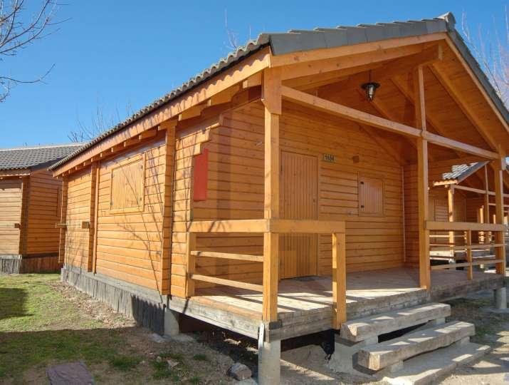 Bungalow tipo: Rústico en el Camping Caravaning el Escorial