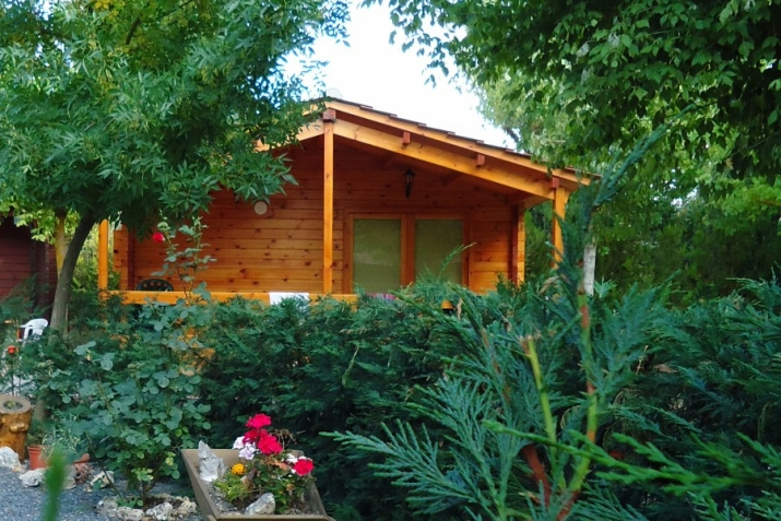 Bungalow tipo: Vila Vermella en el Camping Prades