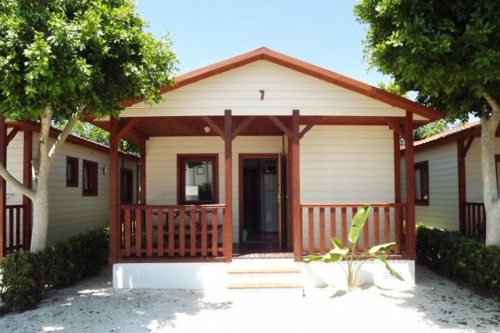 Bungalow tipo: Creta en el Camping Marjal Guardamar   & Resort