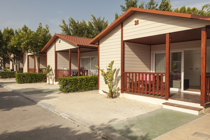 Bungalow tipo: Creta Confort en el Camping Marjal Guardamar   & Resort