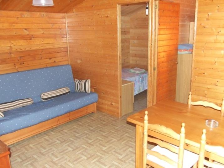 Bungalow tipo: De Madera en el Camping Los Naranjos