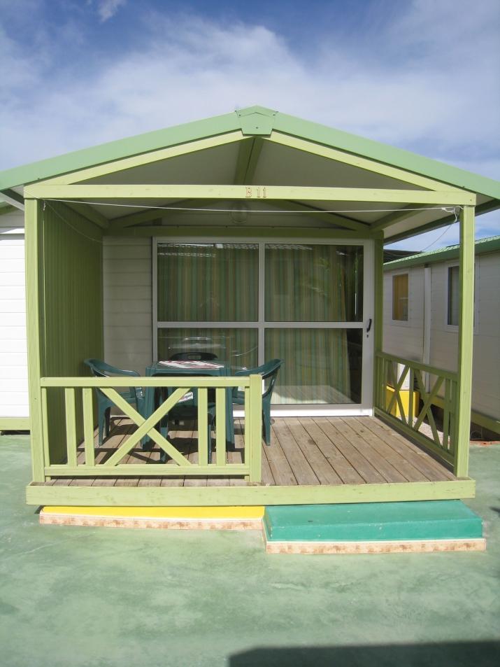 Bungalow tipo: Gitotel Dos Habitaciones en el Camping Fuente