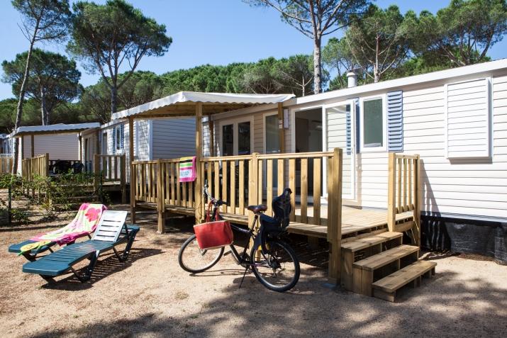 Bungalow tipo: Mobile Home 3 Hab en el Camping Cypsela Resort