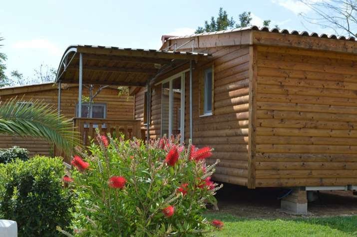 Bungalow tipo: Movil Home en el Camping L\'Orangeraie