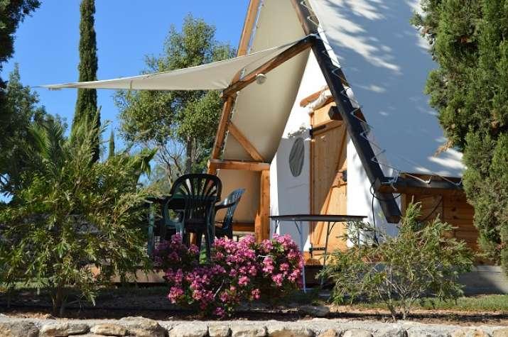 Bungalow tipo: Ecotipy en el Camping L\'Orangeraie