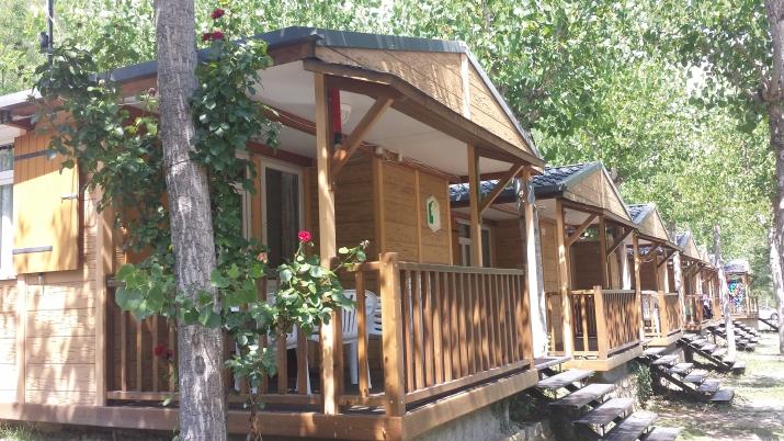 Bungalow tipo: ESTANDAR en el Camping La Gorga