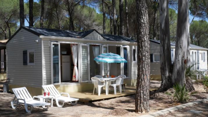 Bungalow tipo: Glenan en el Camping Doñarrayan Park
