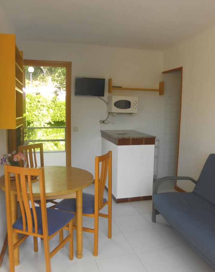 Bungalow tipo: Apartamento Estudio en el Camping Canyelles
