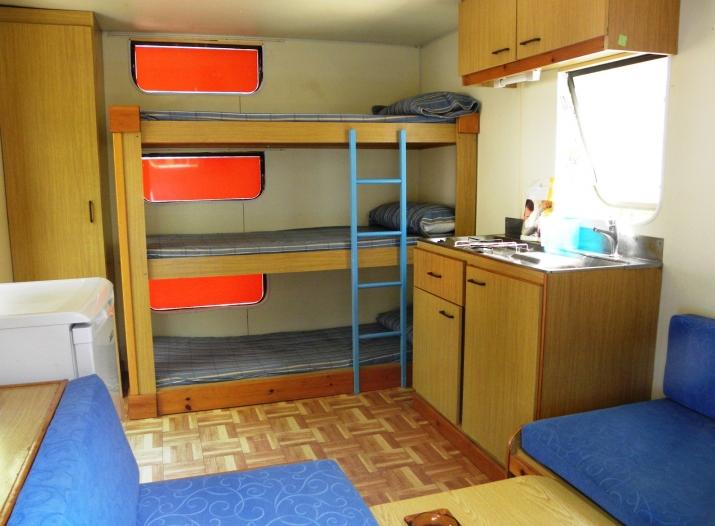 Bungalow tipo: Caravana en el Camping Canyelles