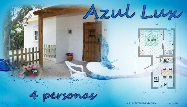 Bungalow tipo: Azul Lux en el Camping Azul
