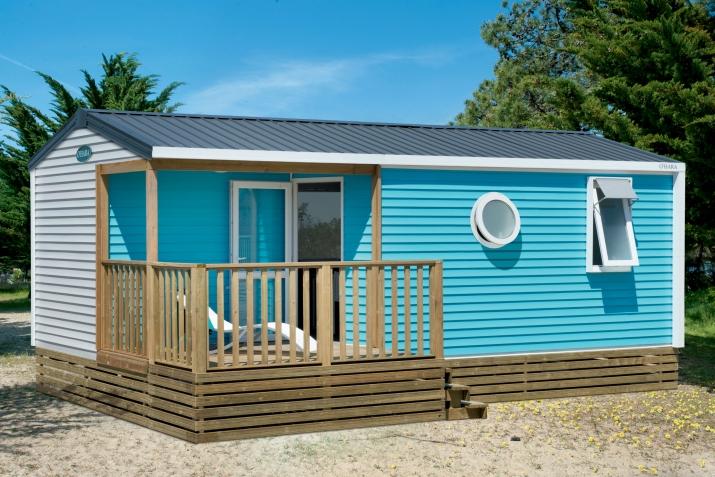 Bungalow tipo: Mobil Home Marina 4 Pax Ac en el Camping Caballo de Mar