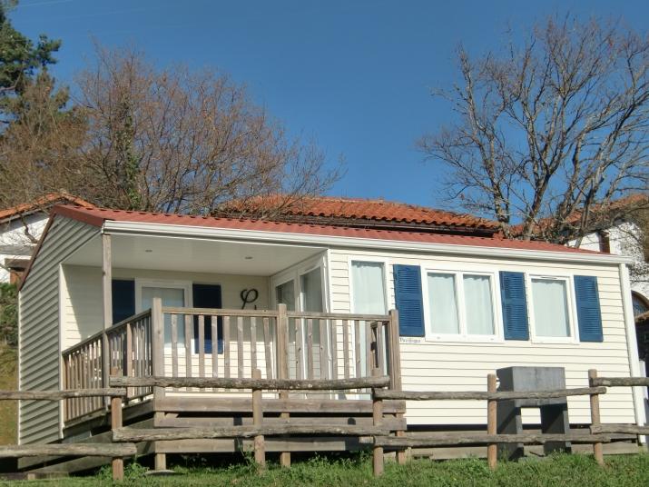 Bungalow tipo: 2 Dormitorios en el Camping Portuondo