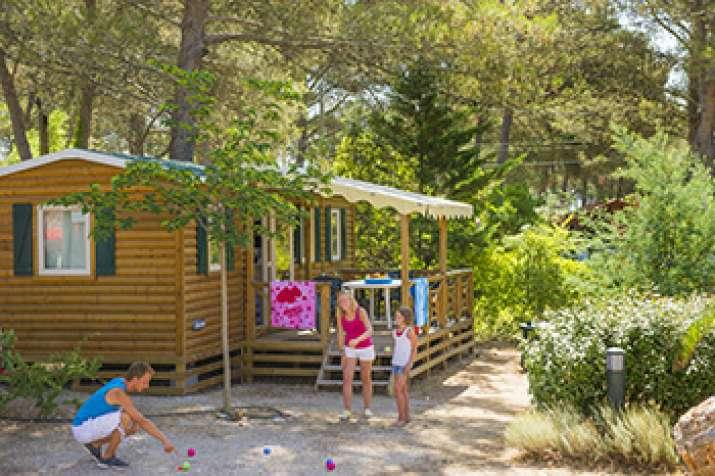 Bungalow tipo: Sunshine Top Presta en el Camping Caravaning el Escorial