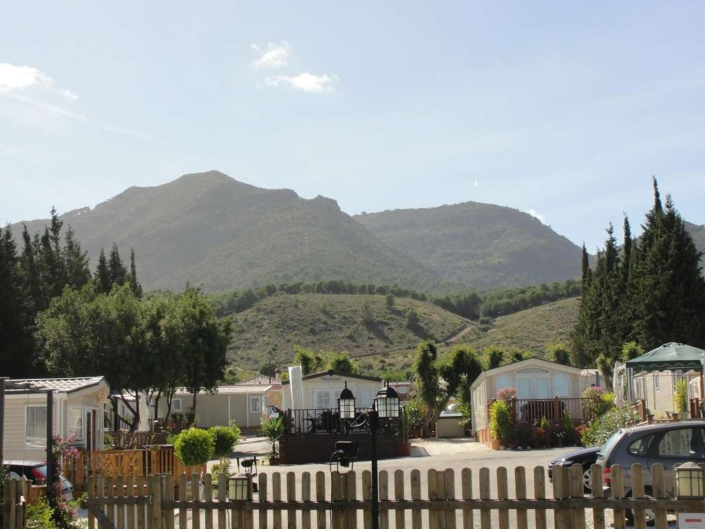 entrono del Camping Málaga Monte Parc