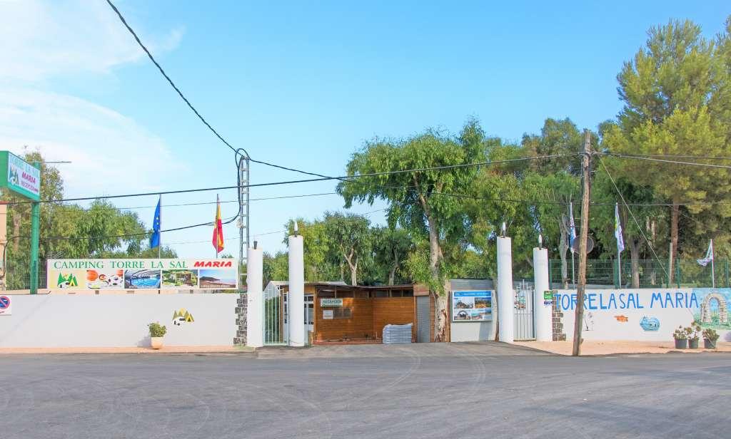 entrono del Camping Torre la Sal María