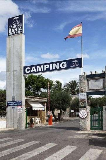 Camping Bahía de Santa Pola