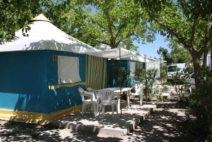 Camping azul camping y bungalows en oliva - Camping en oliva con piscina ...