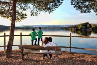 Entorno del Camping Lake Caspe
