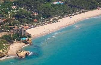 Entorno del Camping Tamarit Beach Resort